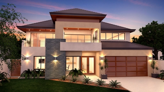 New Technology For Energy Efficient Two Storey Home