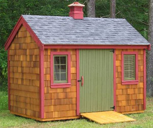 The Benefits of A Gambrel Roofs On Colonial Sheds