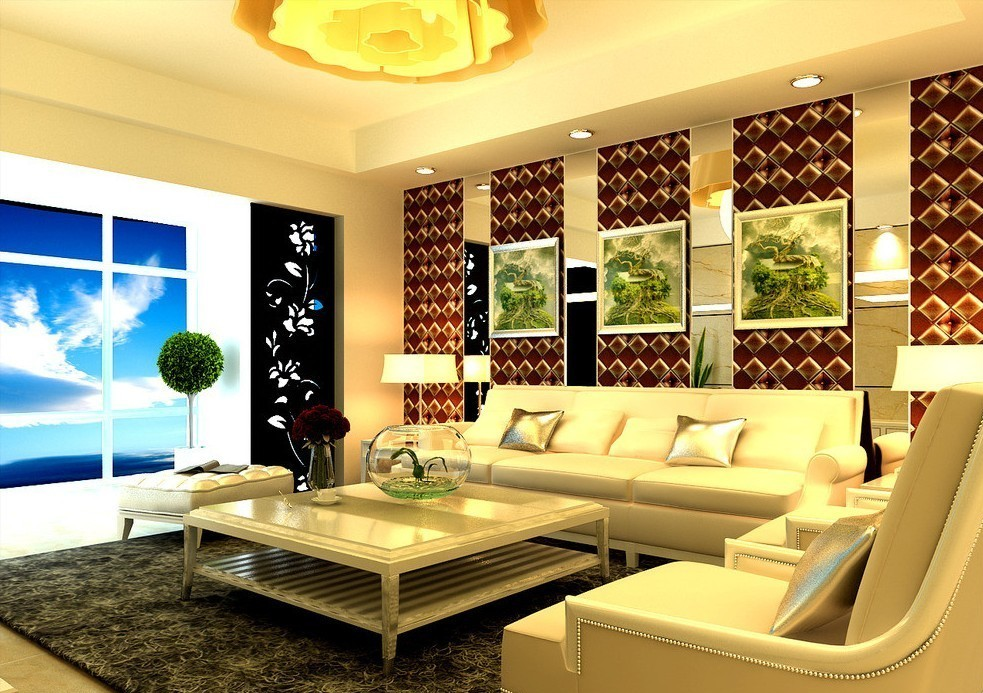 cream-pop-ceiling-design-with-stylish-lighting-in-living-room