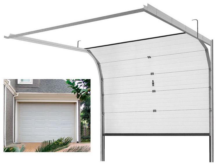 How I Replaced My garage Door Myself