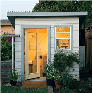 Transform Your Garden Shed into Your Own Space